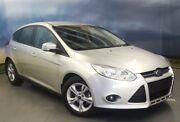 2013 Ford Focus LW MKII Trend PwrShift Silver 6 Speed Sports Automatic Dual Clutch Hatchback Elizabeth Playford Area Preview
