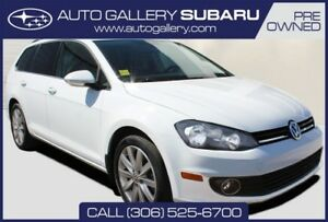 2012 Volkswagen Golf Wagon HIGHLINE | TDI | SUNROOF | LEATHER |