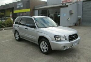 2004 Subaru Forester MY04 XS Luxury Silver 4 Speed Automatic Wagon Epping Whittlesea Area Preview