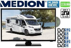 MEDION LED TV 12 V & 230Volt Betrieb DVB-C/S2/T2 19