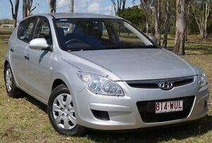2009 Hyundai i30 FD MY09 SX Continental Silver 4 Speed Automatic Hatchback Bundaberg West Bundaberg City Preview
