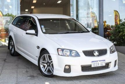 2013 Holden Commodore VE II MY12.5 SV6 Sportwagon Z Series White 6 Speed Sports Automatic Wagon Myaree Melville Area Preview