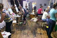PAINTING LESSONS ~ ANY EVERYONE CAN PAINT COURSE!
