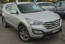 2012 Hyundai Santa Fe DM MY13 Elite Silver 6 Speed Sports Automatic Wagon Phillip Woden Valley Preview