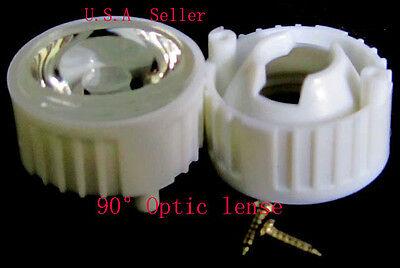 90 Optic Wide Angle Led Lens-- 8 Pcs