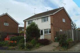 2 bed semi-detached house to let, 38 Elmtree Ave, Kilburn DE56 0NL, drive, gardens, DG, GCH. £525pcm