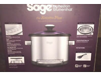 NEW - Sage by Heston Blumenthal Risotto Plus slow cooker - NEW
