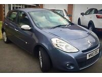 FOR SALE: 2010 (10 plate) Renault Clio 1.5 dCi I-Music facelift edition 5 door in blue metallic.
