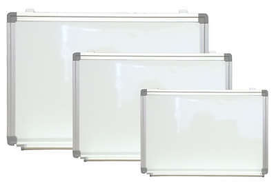 Magnetic White Dry Erase Board Menu With Marker Pen Tray Menu Sign 24 x 36