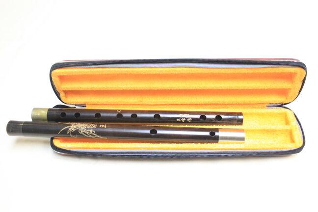 C key black sandalwood Chinese dizi - Wooden flute