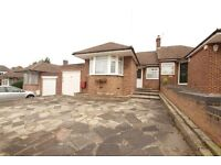 ***3 BEDROOM BUNGALOW - COCKFOSTERS - OFFERED UNFURNISHED - LARGE PRIVATE GARDEN****