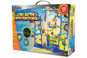 The Techno Gears Marble Mania 400+ Pieces Galactic Adventure