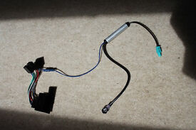 Car stereo harness (PC2-75-4) AND aerial adaptor (PC5-136) pre-assembled for various VW models.