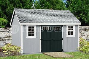 Garden Sheds 7 X 14 garden storage shed plans 10' x 14' gable roof design d1014g, free