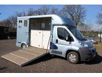 EQUI-TREK SONIC Peugeot Horsebox 2011 (61) ONE OWNER ONLY 5000 MILES EQUITREK