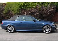 BMW Converible, Automatic. Petrol. Good condition in and out. Lovely drive.