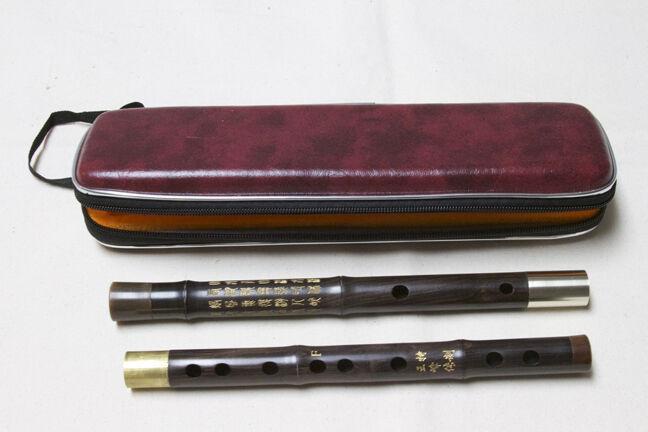 Dizi , F key flute, wooden concert master flute