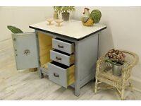 Vintage 1950's Kitchen Larder/ Cabinet