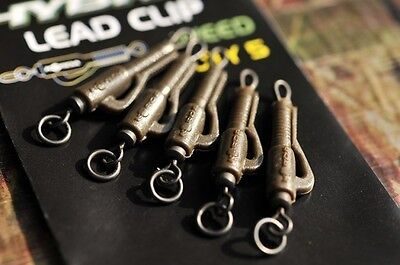 Back Lead Clips x 6 in packet