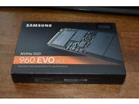 960 Evo m2 SSD 250GB