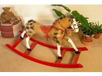 Vintage Mid Century 1950´s Child´s Rocking Horse