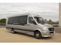 Easy Minibus Hire London With Driver. Save 30% Today on 8,12,16 Seat Minibuses.