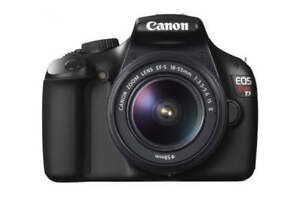 Canon Rebel EOS T3 w/ 18-55mm lens