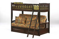 Futon Bunk Bed - New - By BunkBedsCanada