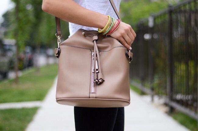 Zara Zipped bucket bag