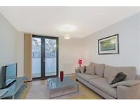 A modern and contemporary 1 bedroom flat with spacious reception room with balcony in Canary Wharf