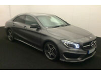 GREY MERCEDES-BENZ CLA 220 200 180 CDI AMG LINE Coupe SPORT FROM £93 PER WEEK!