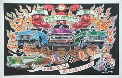 MASTERS OF THE  FIFTIES ROBERT WILLIAMS POSTER NEW 50s