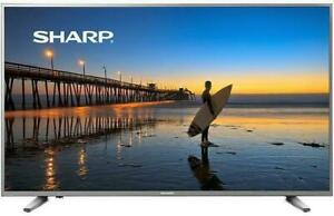 SHARP AQUOS 55  4K UHD HDR SMART TV BLOWOUT SALE $469.99 **NO TAX**
