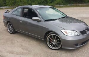 2005 Honda Civic special edition Coupe (SAFETY & ETEST)