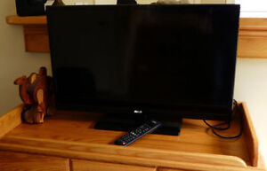 """RCA 32"""" TV with remote"""