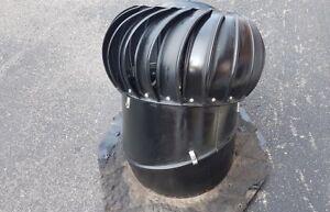 Attic fan turbine