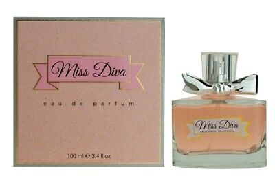 MISS DIVA By Sandora Eau De Perfume Spray EDP Women Parfum BRAND NEW 3.4 oz  ()