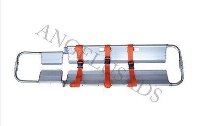Medical Emergency Aluminum Alloy Adjustable Scoop Stretcher Equipment 191-mayday