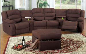 sofa inclinable cinéma maison/reclining home theater couch