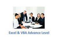 Advance Excel VBA Macro Corporate Training $93 Scarborough GTA