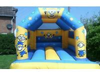 Bouncy castle from as little as £35. Frozen/minions/cars/party