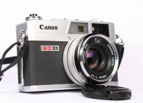 AFFORDABLE SERVICE CLA for Canon Canonet QL17 GIII Camera 90 days Warranty!!!