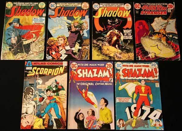 SUPER-HERO MIXED BRONZE LOT 4 - 7 Books