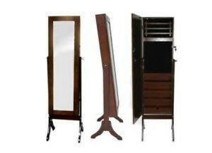 Elise Jewellery Armoire Box  with Large Dress Mirror upto 30%Off