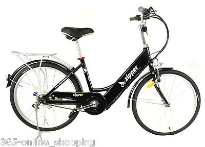 "24"" Z5 Ultimate 21 Speed Electric Commuting Economical E-Bike Midnight Blue"