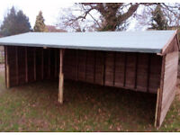 Field shelter - large, used