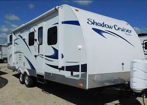2013 26' 260 BHS Shadow Cruiser travel trailer with bunk