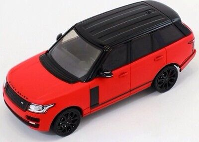 Range Rover 2013 Red Matt with Black Pack and Black Roof Premium X PRD405