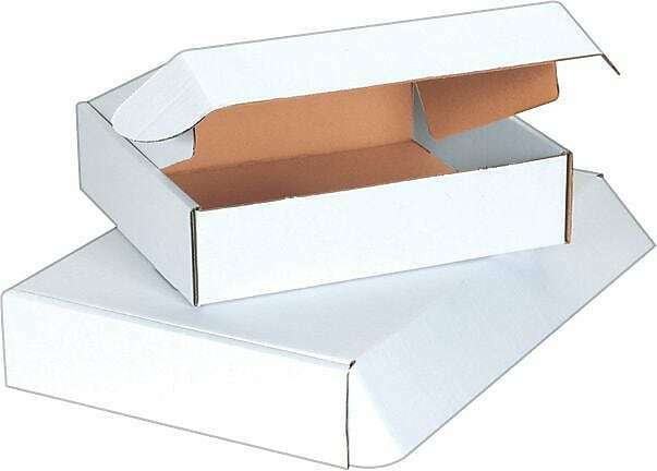 The Packaging Wholesalers 11 1/8 x 8 3/4 x 2 Deluxe Literature Mailers BSMFL1182