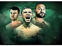 Carl Frampton £100 for 2 tickets SOLd
